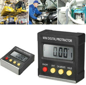 Mini LCD Digital Protractor Level Box Angle Finder Inclinometer Gauge Magnet US $13.48