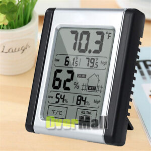 Digital Hygrometer LCD Indoor Thermometer Temperature Humidity Meter for Home