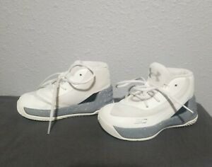Under Armour Curry shoes size 5k kid's baby toddler boy girl unisex white grey $18.00