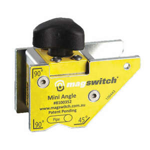 MAGSWITCH 8100352 Welding Angle80 lb. Max. PullSteel $35.25