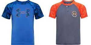 New Under Armour Boys Short Sleeve Graphic Shirt Choose Size & Color MSRP $25 $11.99