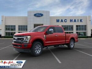2020 Ford F-250 Platinum 2020 Ford Super Duty F-250 SRW Platinum 5 Miles Rapid Red Crew Cab Pickup Interc