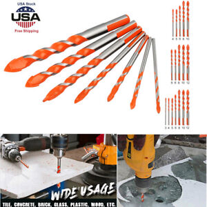 5/ 7PCS Ultimate Drill Bits -Multifunctional Ceramic Glass Hole Working Sets USA