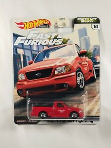 2020 Hot Wheels Premium Fast Furious Motor City Muscle Ford F 150 SVT Lightning