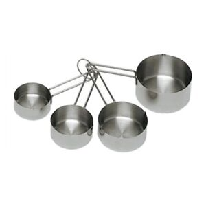 Update International Stainless Measuring Cup Set