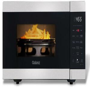 Galanz 0.9 Cu.Ft Air Fry Microwave 3-in-1 countertop air fryer, convection oven
