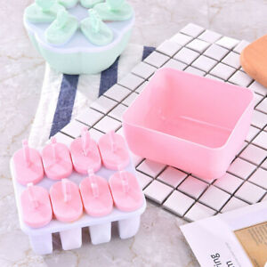Ice Cream Maker Popsicle Mold Tray with Set Molds Pop Ice 6/8PACK Guard Drip