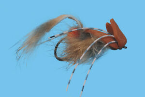 1 Mickey Mouse Fly Size 1 Trout Bass Pike Muskie Solitude Fly Company