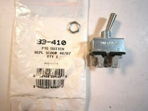 NEW PTO CLUTCH SWITCH, SCAG 48787, ARIENS 36024, GRASSHOPPER 604796 MADE IN USA