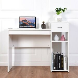Computer Desk PC Laptop Table with Drawer and Shelf