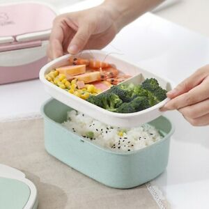 Kids Student School Lunch Box Thermal Insulated Food Container Box Warmer Box