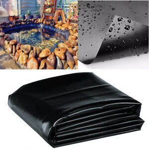 20Ft Pond Liner Skin Garden Fish Membrane Outdoor Landscaping Supplies Equipment