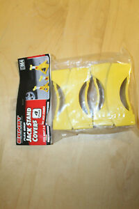 Yellow Jack Stand Cover Set Of 4 Car Vehicle Scratch Protection Safety Gear New