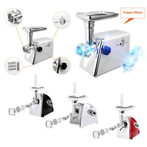 2800W Electric Vegetable Meat Grinder Home Kitchen Sausage Maker with Handle