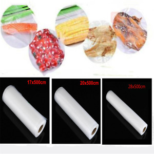 Vacuum Rolls Vacuum Sealer Bag For Food Machine Saving Saver Sealing Kitchen USA