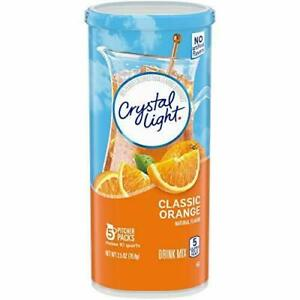 Crystal Light Classic Orange Powdered Drink Mix $10.20