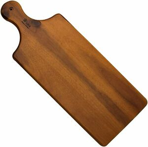 Acacia Wood Cutting Board, AIDEA Cheese Board Serving Tray with Handle