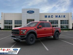 2020 Ford F-150 Raptor 2020 Ford F-150 Raptor 5 Miles Rapid Red Tinted Crew Cab Pickup Twin Turbo Regul