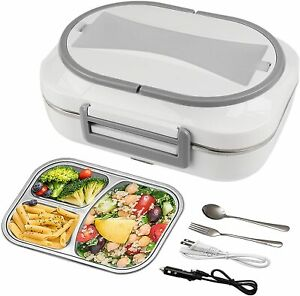 Electric Lunch Box Food Warmer Car Heater Container Portable Heating Storage $29.99