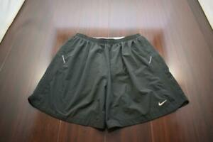 36238 Mens Nike Running Dri Fit Performance Lined Work Out Gym Shorts Sz Medium $22.50