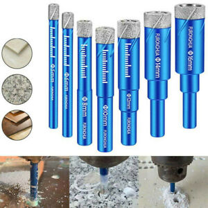 Dry Drill Bit Holesaw For Porcelain Granite Tile Ceramics Marble Drill Bits