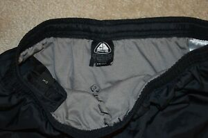 NIKE ACG DRI FIT Men's Brief Lined Silk Feel Running Shorts Black Size Large $8.50