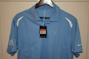 NWT NIKE GOLF DRI FIT Men's S S Polyester Polo Shirt Power Blue Size Large $8.99