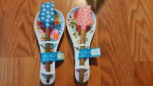 The Pioneer Woman Spoon Rest amp; Spatula Set Breezy Blossom or Vintage Floral