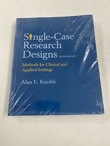 Single-Case Research Designs: Methods for Clinical and Applied Settings B-398
