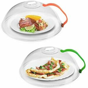 Microwave Splatter Cover, For Food BPA Free, Plate Guard Lid With Steam Vents