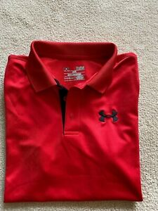 Under Armour Boys Athletic Polo Shirt Sz YLG Youth Large MUST SEE! A++++++++WOW! $10.44