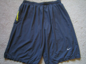 Nike Dri Fit Running Mens Lined Polyester Activewear Shorts XL X Large $8.00