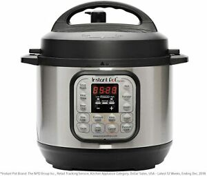 Instant Pot Duo Mini 7-in-1 Electric Pressure Cooker 3 Quart, 11 One-Touch Progr