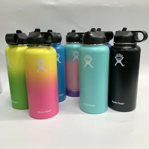 Hydro Flask Wide Mouth Stainless Steel Bottle With Cap Multicolor 32/40oz