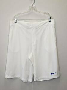 12 8 Mens Nike Dri Fit Tour Performance Casual Golf Shorts Size XL White GC $4.00