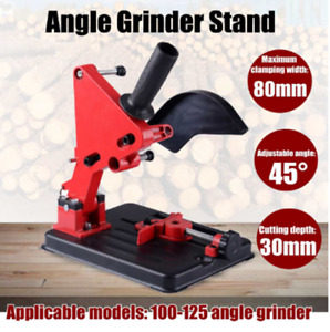 100 125 Angle Grinder Stand Bracket Holder Cutting Stand Power Tools Accessories $24.79
