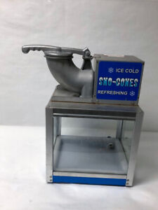 Ice-Cold Sno-Cones 613300 Blue Stainless Steel - 12/L3281A
