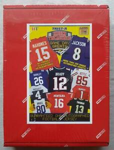 Tristar Hidden Treasures nfl Game Day Greats Jersey Football Edition Box 2020 $316.39