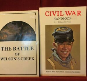 Two Civil War Collectibles One Price $6.95