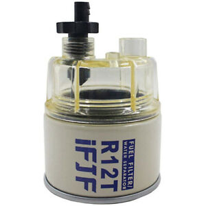 R12T For Marine Spin on Fuel Filter water Separator 120AT $16.35