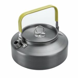 800ml Portable Outdoor Anodized Aluminum Kettle for Camping Outdoor Ultralight