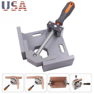 90°Right Angle Clip Clamp Tool Woodworking Photo Frame Vise Welding Clamp Holder $17.99