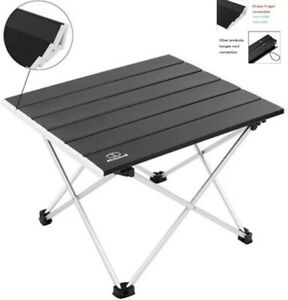 MSSOHKAN Lightweight Portable aluminum TableFOR CAMPING OR HIKEING