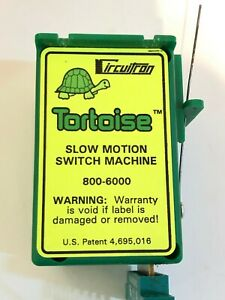 Circuitron Tortoise #800 6000 slow motion switch with power terminal bloc $14.50
