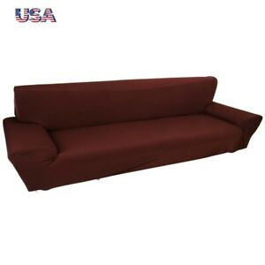 4 Seater Universal Sofa Cover Non Slip Stretch Elastic Couch Slipcover Protector