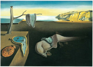 The Persistence of Memory 1931 by Salvador Dali Art Print Poster 11x14 $13.59