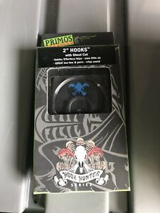 PRIMOS HUNTING: HOOK HUNTER SERIES 2quot; HOOKS WITH GHOST CUT 1244 NIB