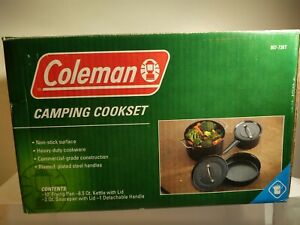 Coleman Camping 6 Piece Cook Set 807 738T FREE SHIPPING