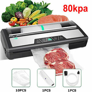 Commercial Vacuum Sealer Machine Food Saver System With Free Bags Dry Wet Mode $53.99