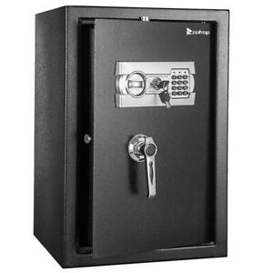 Zokop Electronic Home Security Depository Safe Box Digital Lock Gun Jewelry 22quot; $104.99